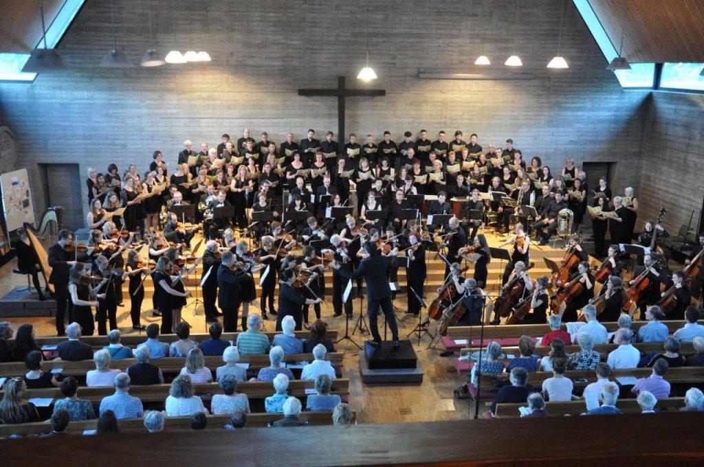 proVocal mit dem Sinfonieorchester an der DHBW Karlsruhe