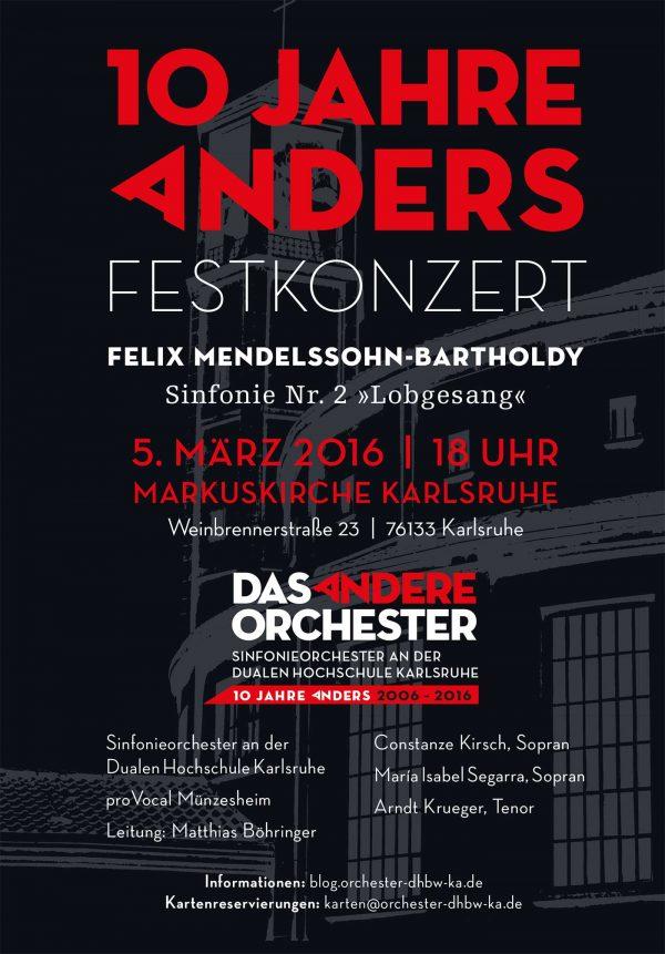 Festkonzert am 5. März 2016