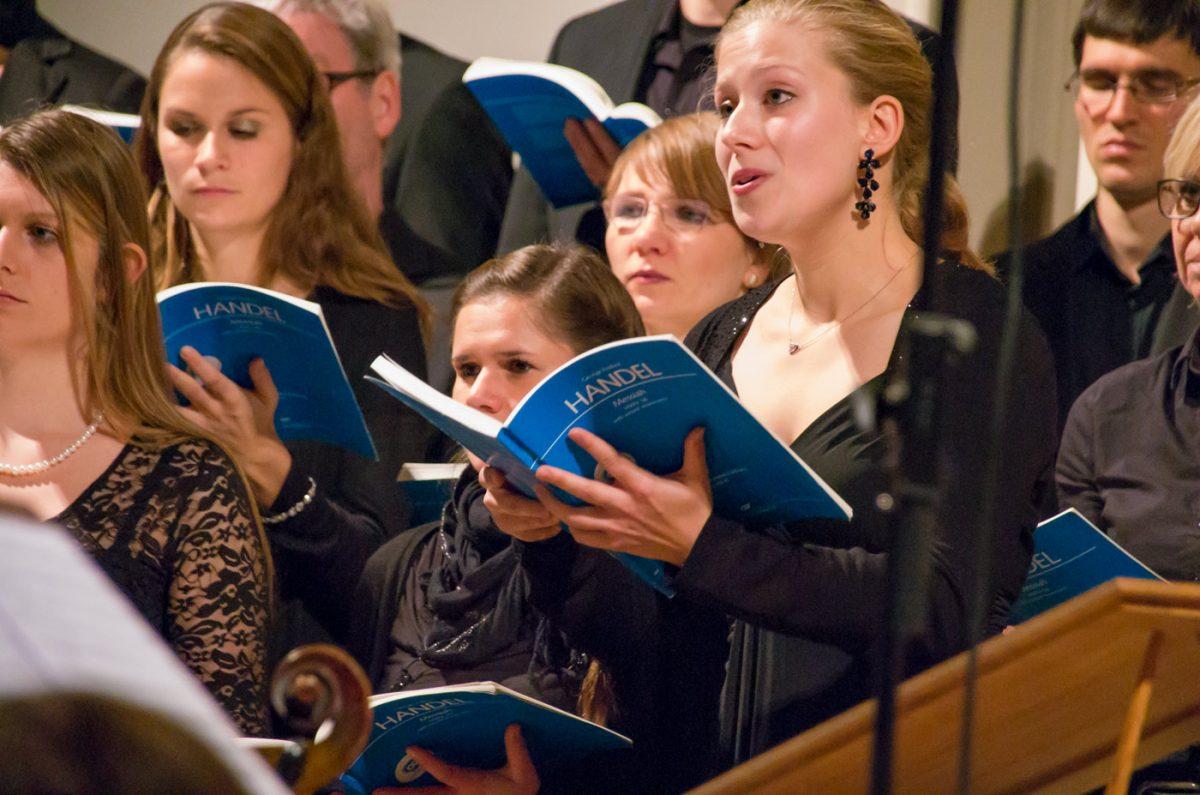Friederike Düppers singt