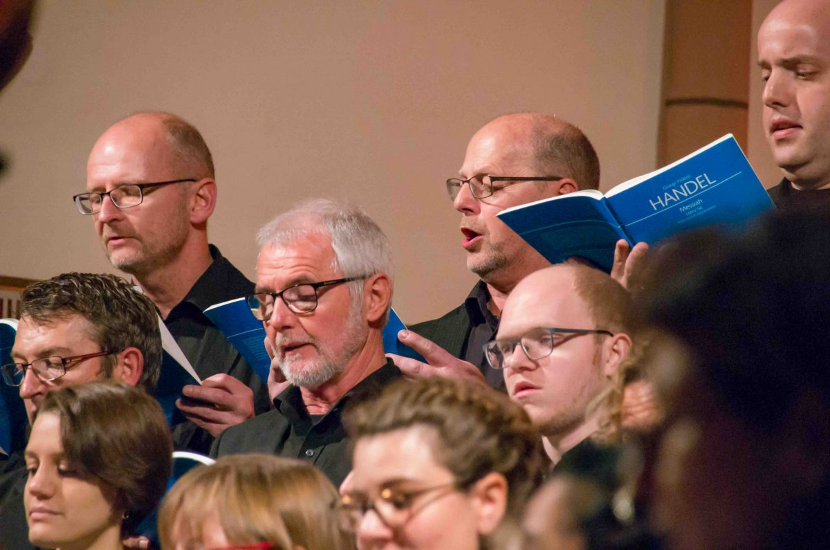 Tenor proVocal singt MESSIAH