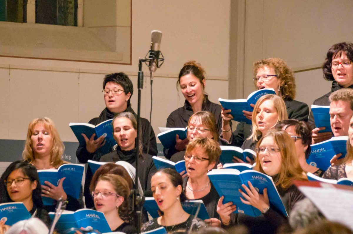 Sopran proVocal singt MESSIAH