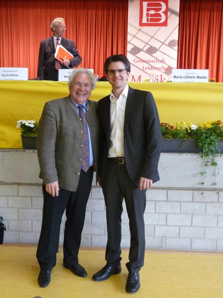 Matthias Böhringer wird neuer Musikalischer Direktor