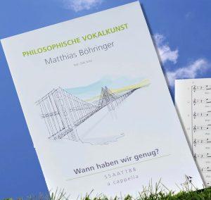 Erste Komposition unseres Dirigenten Matthias Böhringer ist verlegt
